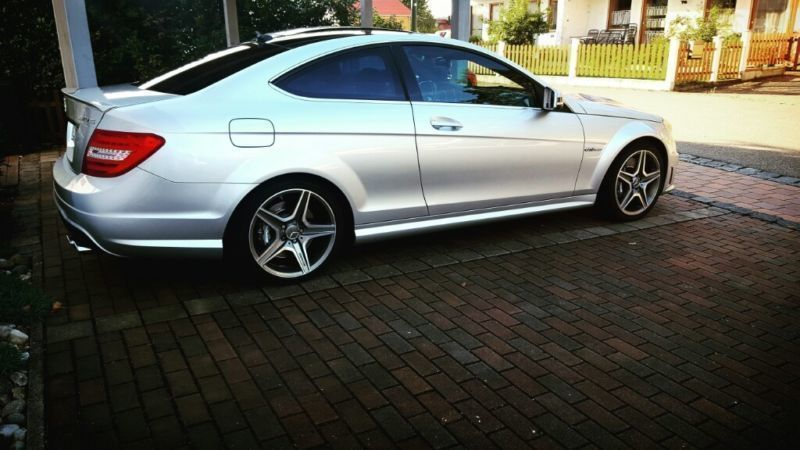 verkauft mercedes c63 amg amg coupe am gebraucht 2013 km in nandlstadt. Black Bedroom Furniture Sets. Home Design Ideas