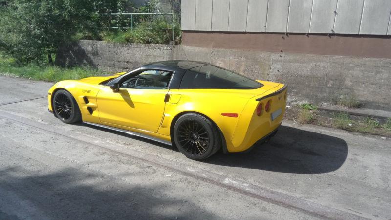 verkauft corvette z06 coupe gebraucht 2008 km in. Black Bedroom Furniture Sets. Home Design Ideas