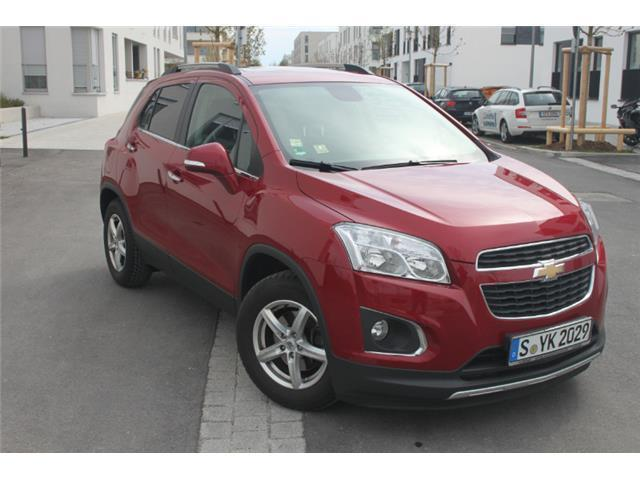 verkauft chevrolet trax 1 4t awd lt gebraucht 2014 km in m nchen. Black Bedroom Furniture Sets. Home Design Ideas