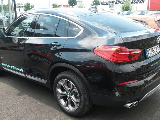 verkauft bmw x4 xdrive30d m paket 20 z gebraucht 2014 5. Black Bedroom Furniture Sets. Home Design Ideas