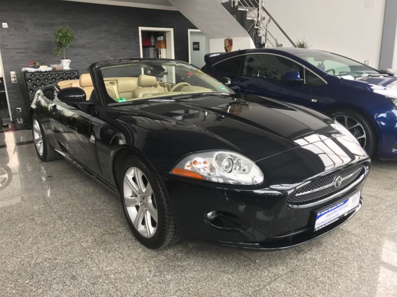 verkauft jaguar xk cabriolet 4 2 cabri gebraucht 2008. Black Bedroom Furniture Sets. Home Design Ideas