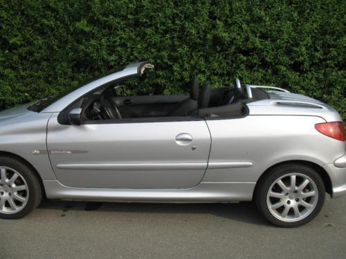 verkauft peugeot 206 cc hdi fap 110 qu gebraucht 2005 km in extertal. Black Bedroom Furniture Sets. Home Design Ideas