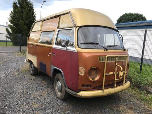 verkauft vw t1 vw t2 a b bus hochdach gebraucht 1972 9. Black Bedroom Furniture Sets. Home Design Ideas