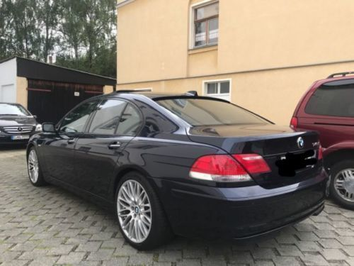 verkauft bmw 745 d tv dvd softclouse gebraucht 2006 km in chemnitz. Black Bedroom Furniture Sets. Home Design Ideas