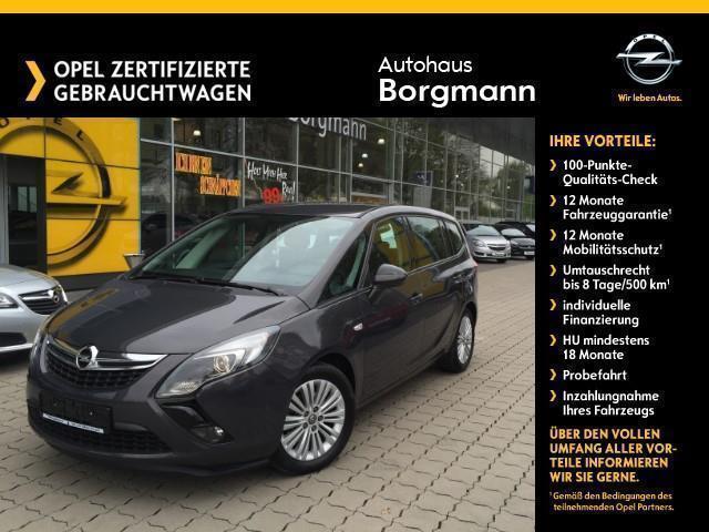 verkauft opel zafira borgmann edition ., gebraucht 2016, 27.350 km
