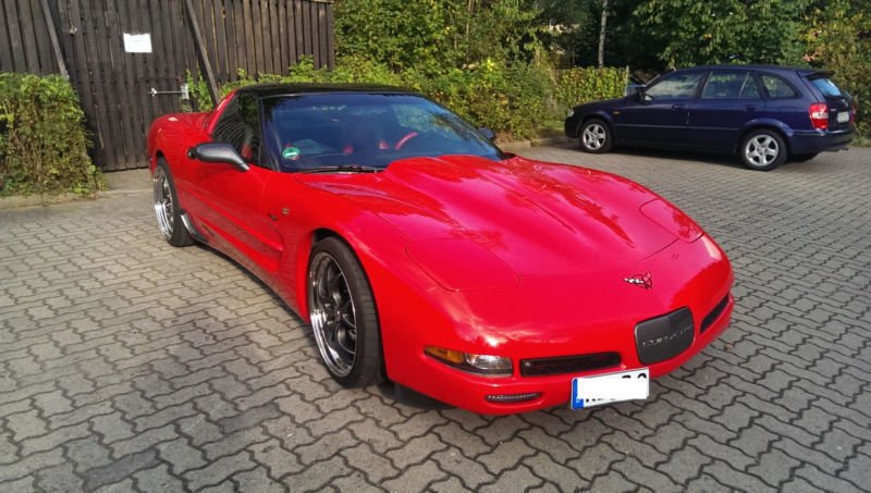 verkauft corvette c5 gebraucht 1997 km in kiel. Black Bedroom Furniture Sets. Home Design Ideas