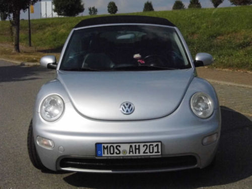 verkauft vw beetle newcabriolet 2 0 gebraucht 2003 km in mosbach. Black Bedroom Furniture Sets. Home Design Ideas