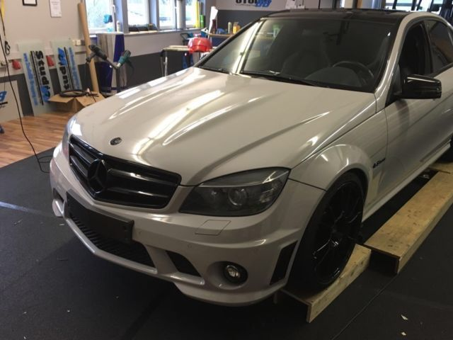 verkauft mercedes c63 amg amg gebraucht 2008 km in karlshausen. Black Bedroom Furniture Sets. Home Design Ideas