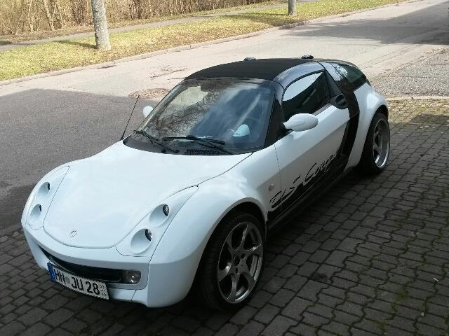 verkauft smart roadster coupe softtou gebraucht 2003. Black Bedroom Furniture Sets. Home Design Ideas