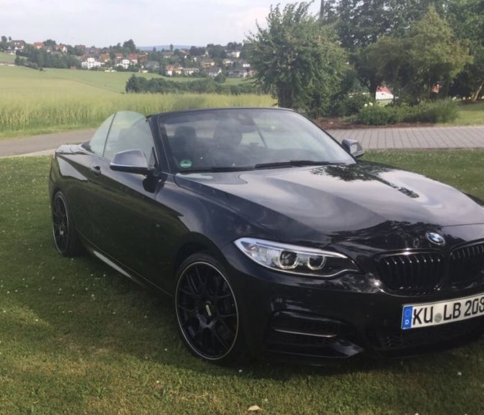 gebraucht xdrive cabrio bmw m235 2015 km in schriesheim. Black Bedroom Furniture Sets. Home Design Ideas