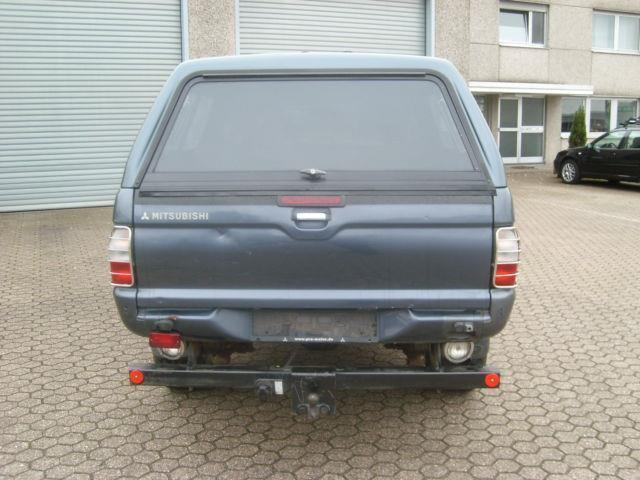 verkauft mitsubishi l200 dakar hardtop gebraucht 2005 km in swisttal. Black Bedroom Furniture Sets. Home Design Ideas