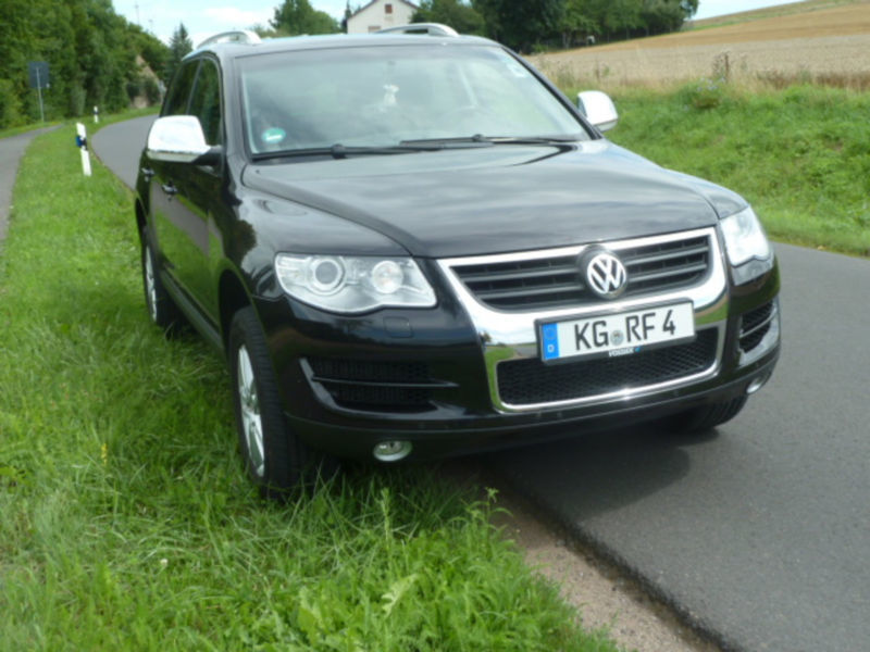 verkauft vw touareg 3 0 v6 tdi dpf 6 g gebraucht 2008 km in bad kissingen. Black Bedroom Furniture Sets. Home Design Ideas