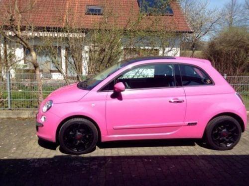 verkauft fiat 500 pink barbie limited gebraucht 2010 km in neu ulm. Black Bedroom Furniture Sets. Home Design Ideas
