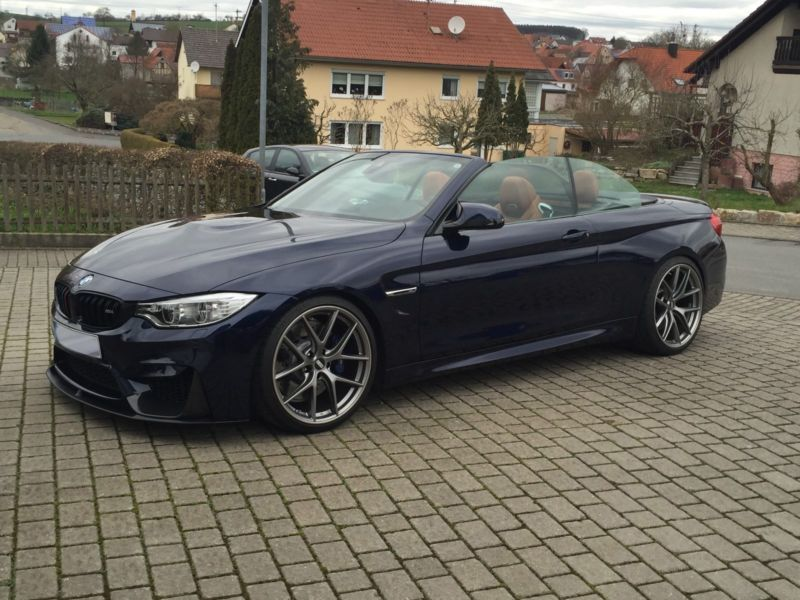 verkauft bmw m4 cabriolet tansanitblau gebraucht 2015. Black Bedroom Furniture Sets. Home Design Ideas