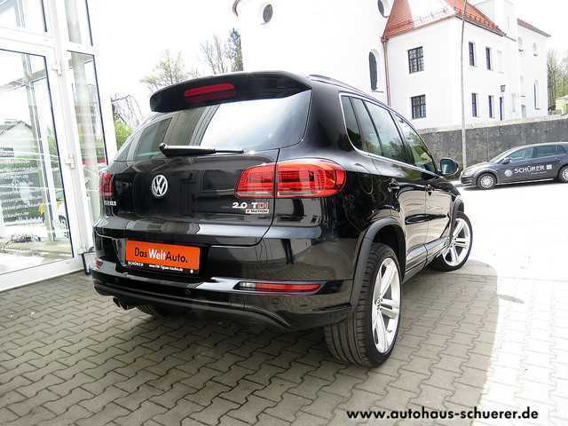 verkauft vw tiguan r line 2 0 tdi dsg gebraucht 2016 9. Black Bedroom Furniture Sets. Home Design Ideas