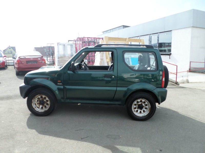 verkauft suzuki jimny 1 5 ddis gebraucht 2004 km. Black Bedroom Furniture Sets. Home Design Ideas