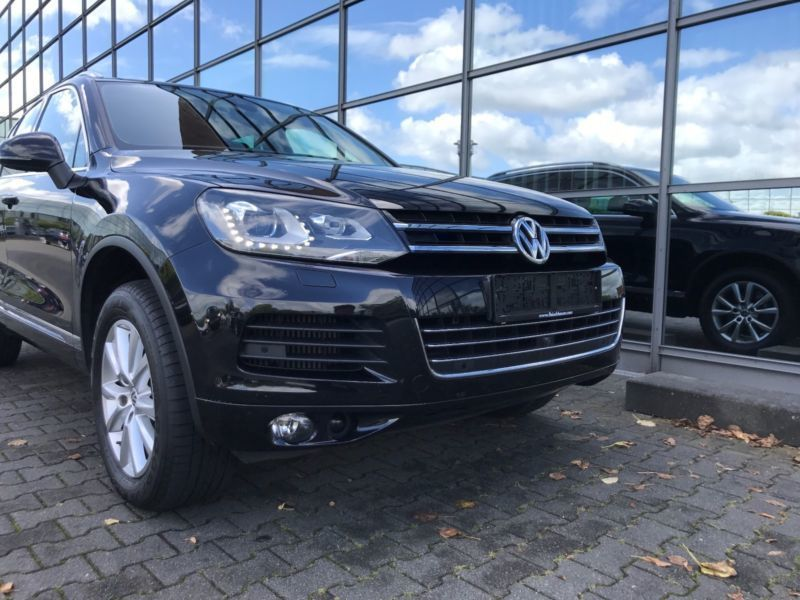 verkauft vw touareg v6 tdi bluemotion gebraucht 2010 km in nettetal. Black Bedroom Furniture Sets. Home Design Ideas