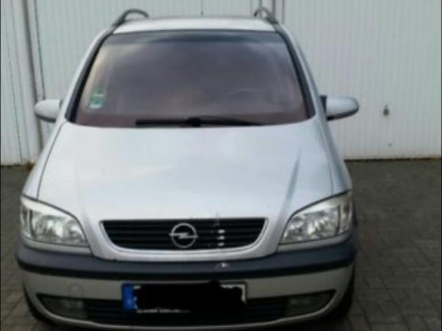 verkauft opel zafira 2 0 dti gebraucht 2002 km in obertraubling. Black Bedroom Furniture Sets. Home Design Ideas