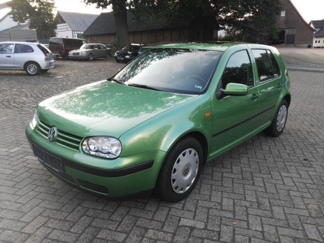 verkauft vw golf iv lim basis t v neu gebraucht 1998 km in bohmte. Black Bedroom Furniture Sets. Home Design Ideas