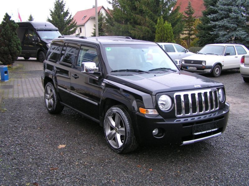 verkauft jeep patriot 2 4 cvt limited gebraucht 2008 km in bad lausick. Black Bedroom Furniture Sets. Home Design Ideas