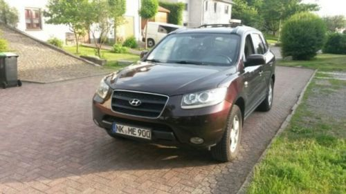 verkauft hyundai santa fe 2 2 crdi 4wd gebraucht 2006. Black Bedroom Furniture Sets. Home Design Ideas
