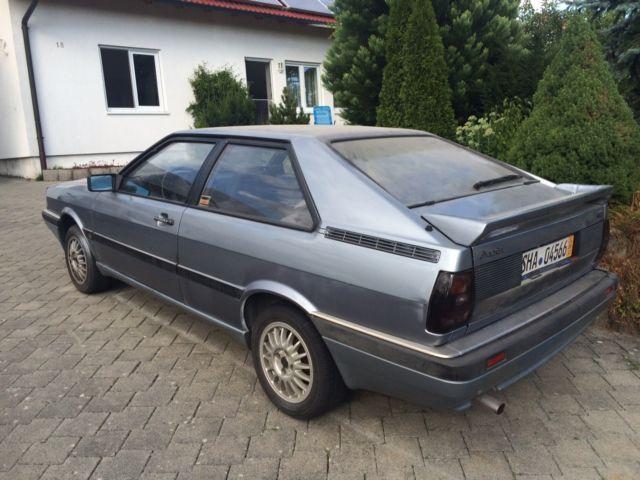 Verkauft Audi Coupe Gt 5 Zylinder Gebraucht 1987 143600 Km In Rot