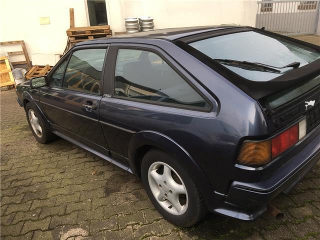 verkauft vw scirocco scala gebraucht 1988 km in vaihingen. Black Bedroom Furniture Sets. Home Design Ideas