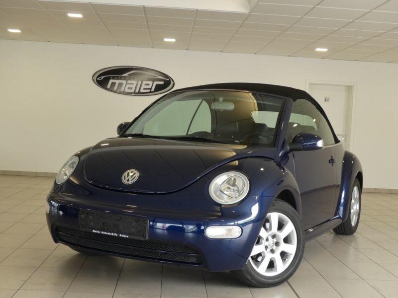verkauft vw beetle newcabriolet 2 0 gebraucht 2003 km in bebra. Black Bedroom Furniture Sets. Home Design Ideas