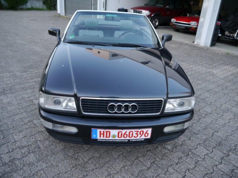 verkauft audi cabriolet gebraucht 1998 km in heidelberg. Black Bedroom Furniture Sets. Home Design Ideas