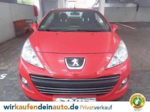 verkauft peugeot 207 cc gebraucht 2012 km in nippes. Black Bedroom Furniture Sets. Home Design Ideas