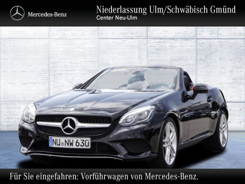 verkauft mercedes 180 slc gebraucht 2016 km in neu ulm. Black Bedroom Furniture Sets. Home Design Ideas