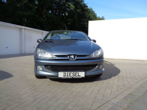 verkauft peugeot 206 cc hdi fap 110 fi gebraucht 2006 km in walsum. Black Bedroom Furniture Sets. Home Design Ideas