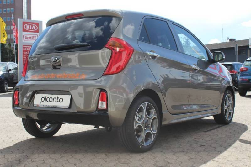 verkauft kia picanto 1 2 spirit sport gebraucht 2016 10 km in berlin. Black Bedroom Furniture Sets. Home Design Ideas