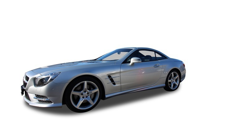 gebraucht Mercedes SL500 AMG Line ABC Magic Sky DTR NP 158.222 EUR