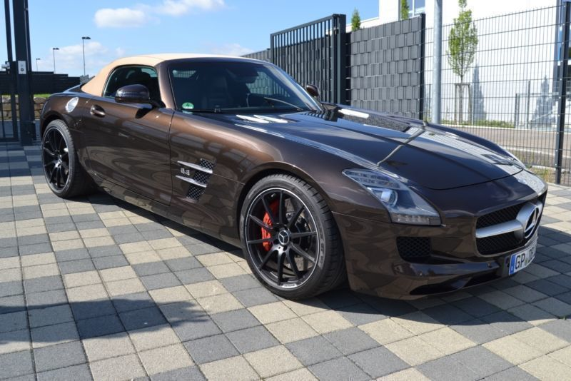 verkauft mercedes sls amg roadster gebraucht 2013 km in zell u a. Black Bedroom Furniture Sets. Home Design Ideas