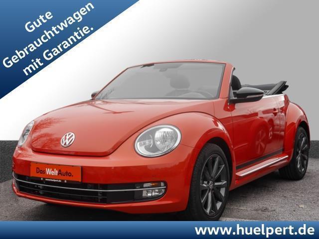 gebraucht VW Beetle Cabriolet 2.0 TDI CLUB Navi ALU18