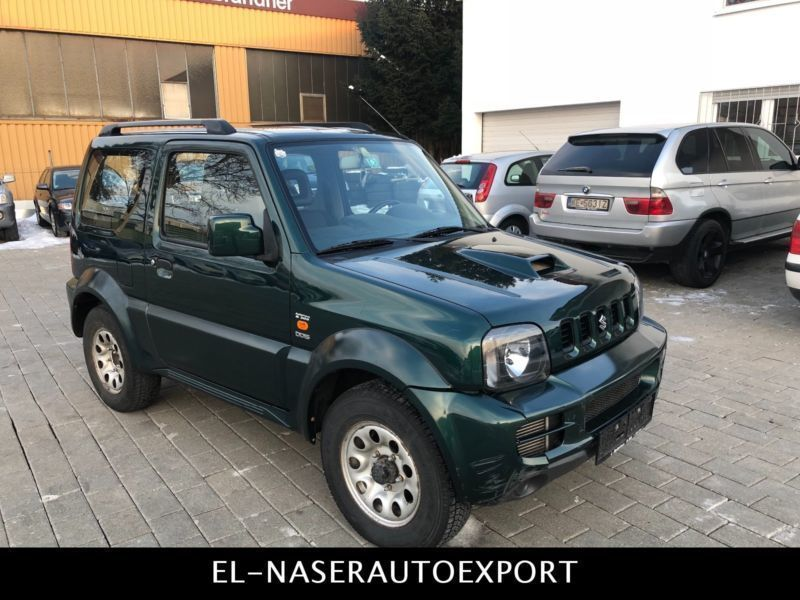 verkauft suzuki jimny 1 5 ddis gebraucht 2008 km. Black Bedroom Furniture Sets. Home Design Ideas