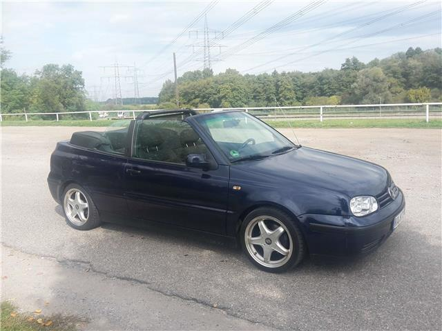 verkauft vw golf cabriolet cabrio 1 6 gebraucht 1998 km in dettenheim. Black Bedroom Furniture Sets. Home Design Ideas
