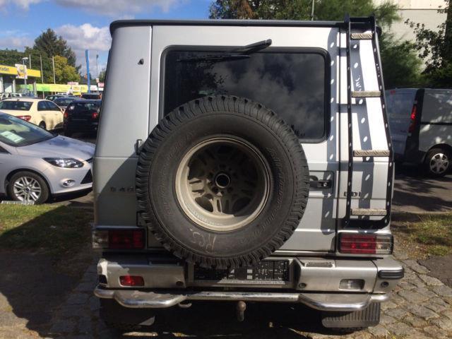 verkauft mercedes g400 cdi cabrio 463 gebraucht 2001 km in stendal. Black Bedroom Furniture Sets. Home Design Ideas