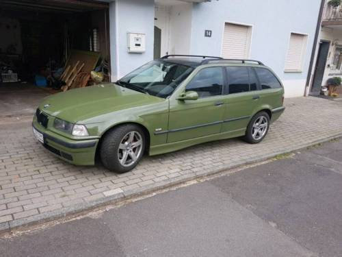 verkauft bmw 323 i touring gebraucht 1998 km in. Black Bedroom Furniture Sets. Home Design Ideas