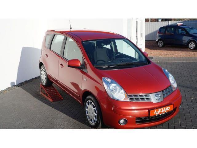 verkauft nissan note 1 4 acenta gebraucht 2008. Black Bedroom Furniture Sets. Home Design Ideas