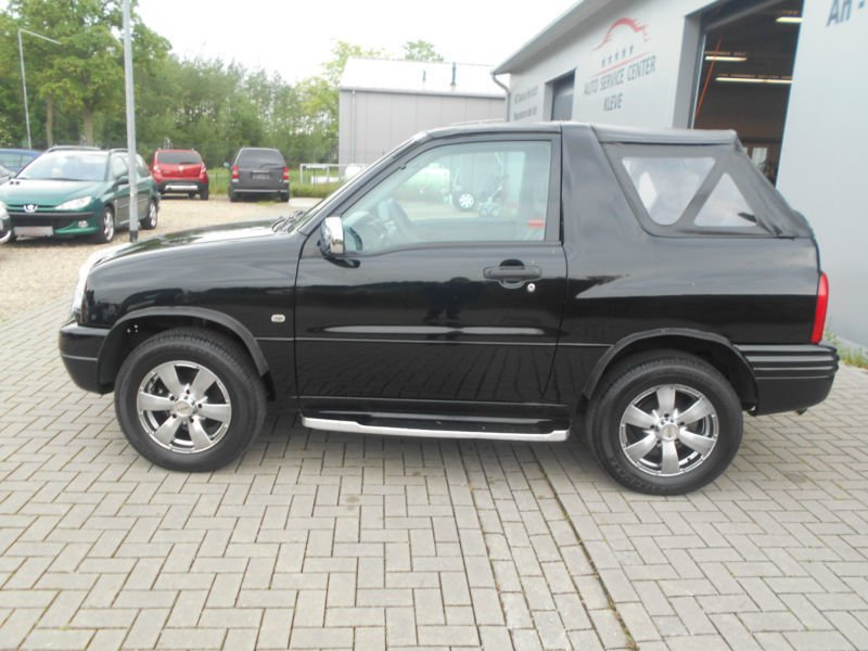verkauft suzuki grand vitara cabrio 2 0 gebraucht 2002 km in bedburg hau. Black Bedroom Furniture Sets. Home Design Ideas