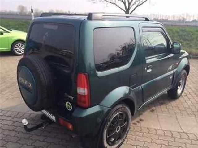 verkauft suzuki jimny gebraucht 2002 km in weimar. Black Bedroom Furniture Sets. Home Design Ideas
