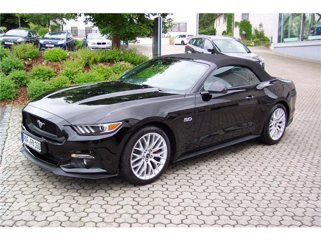 verkauft ford mustang gt gt convertibl gebraucht 2016 3. Black Bedroom Furniture Sets. Home Design Ideas