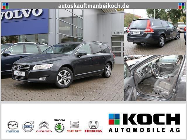 gebraucht Volvo V70 D4 Momentum Aut.181 PS SD Navi Fahrerassistenz