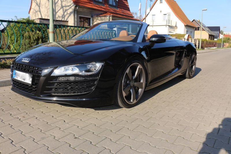 verkauft audi r8 spyder 4 2 fsi quattr gebraucht 2012. Black Bedroom Furniture Sets. Home Design Ideas