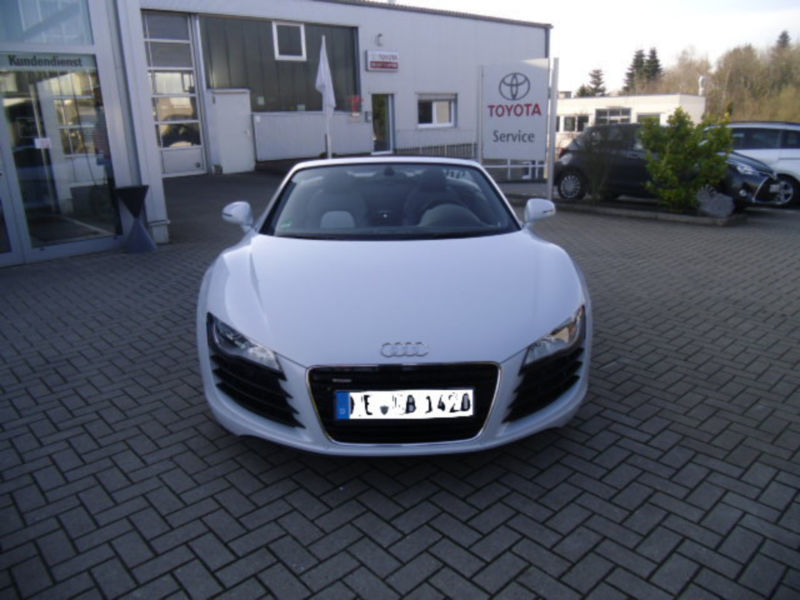 gebraucht 4 2 fsi quattro r tronic reduziert audi r8 spyder 2012 km in ratingen. Black Bedroom Furniture Sets. Home Design Ideas