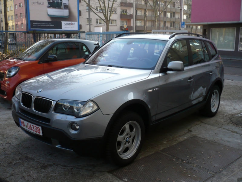 verkauft bmw x3 gebraucht 2008 km in mannheim. Black Bedroom Furniture Sets. Home Design Ideas