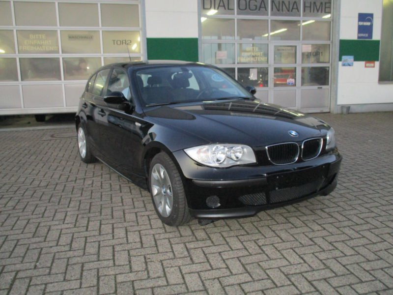 verkauft bmw 116 i 1 hand orig 77 gebraucht 2004 km in wesel. Black Bedroom Furniture Sets. Home Design Ideas