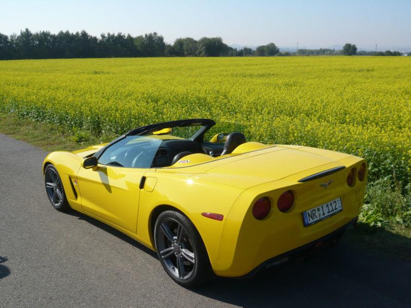 gebraucht cabrio schalter in gelb 3 fahrzeug im top zustand corvette c6 2006 km in. Black Bedroom Furniture Sets. Home Design Ideas